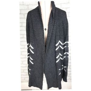 Absolutely For Stitch Fix Gray Waffle Cardigan M